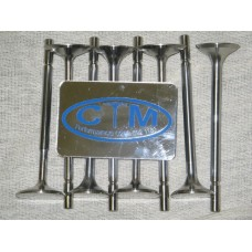 16 x 214N stainless steel valves bda